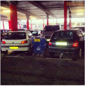 And a Frenchman had the Gaul to tell me I was parked badly...