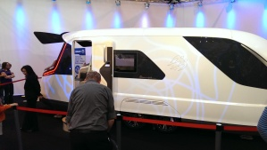 Concept Caravan by Knaus - with boot