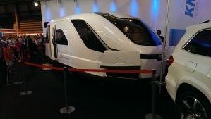 Sleek Knaus Caravan Concept