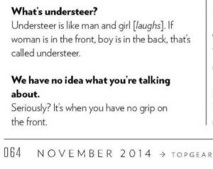 Kamui Kobayashi explains understeer