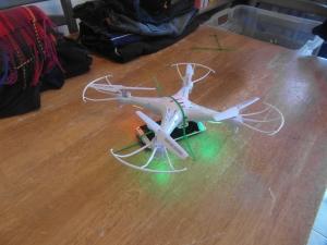 Syma X5C-1 Altitude Test - fail