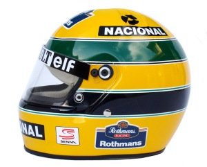 An iconic helmet design